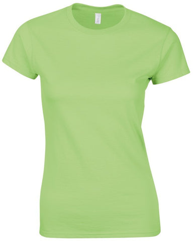Softstyle Ladies T-Shirt (TS072 (GD072)) - Mint Green