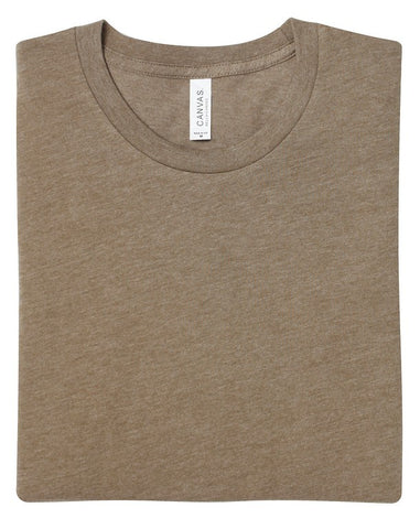 Soft Feel Unisex T Shirt (TS81 (CV001)) - Heather Olive