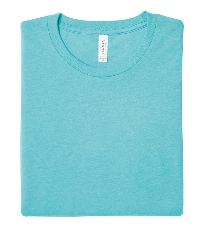 Soft Feel Unisex T Shirt (TS81 (CV001)) - Heather Sea Green