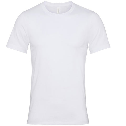 Soft Feel Unisex T Shirt (TS81 (CV001)) - White