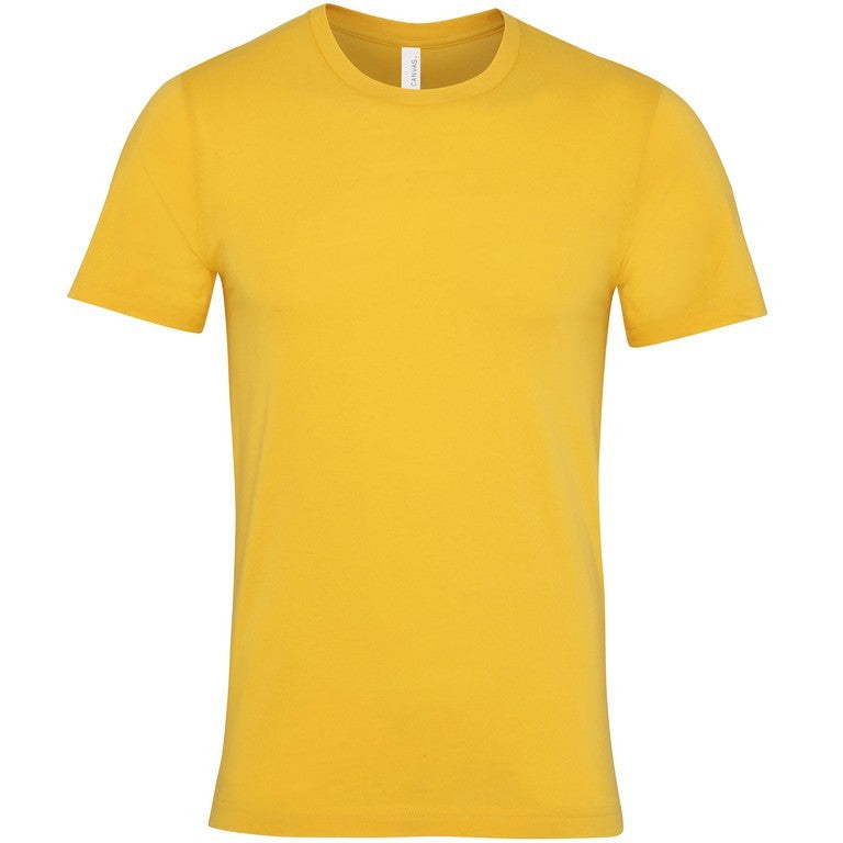 Soft Feel Unisex T Shirt (TS81 (CV001)) - Maize Yellow