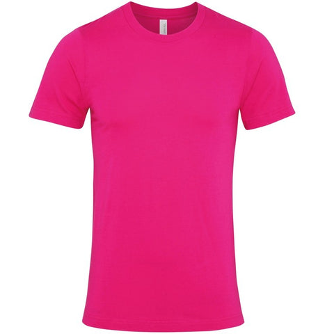 Soft Feel Unisex T Shirt (TS81 (CV001)) - Berry