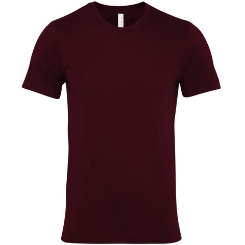 Soft Feel Unisex T Shirt (TS81 (CV001)) - Maroon