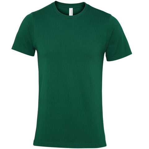 Soft Feel Unisex T Shirt (TS81 (CV001)) - Evergreen