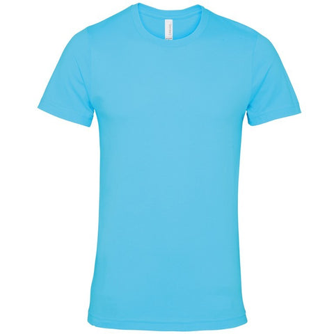 Soft Feel Unisex T Shirt (TS81 (CV001)) - Turquoise