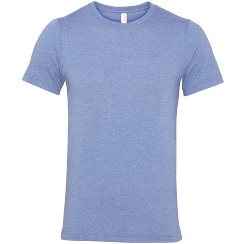 Soft Feel Unisex T Shirt (TS81 (CV001)) - Heather Blue