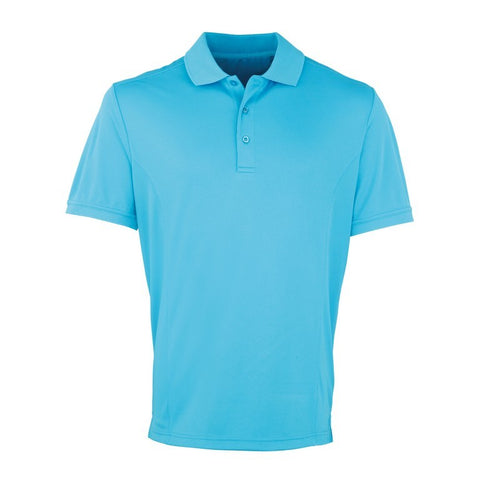 Unisex Cool checker Polo (P615 (PR615)) - Turquoise