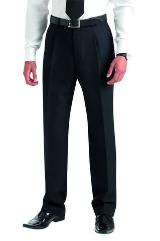 Principle Single Pleat Trouser (TM168) - Navy
