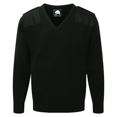 Classic Security Jumper (J203 (9100)) - Black
