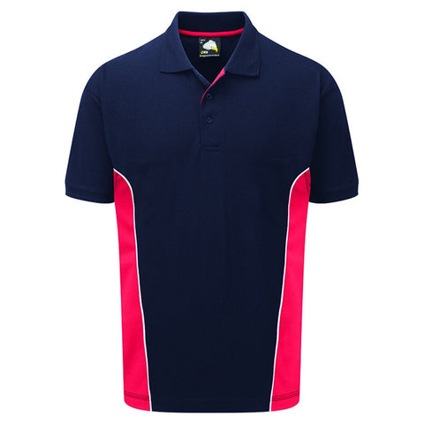 Silverstone Polo (P11 (1180-10)) - Navy / Red