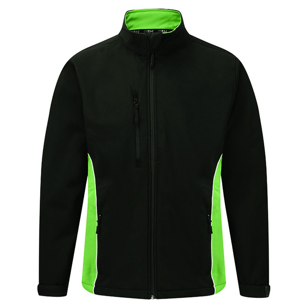Silverstone Softshell (SSJ (4280-50)) - Black / Lime