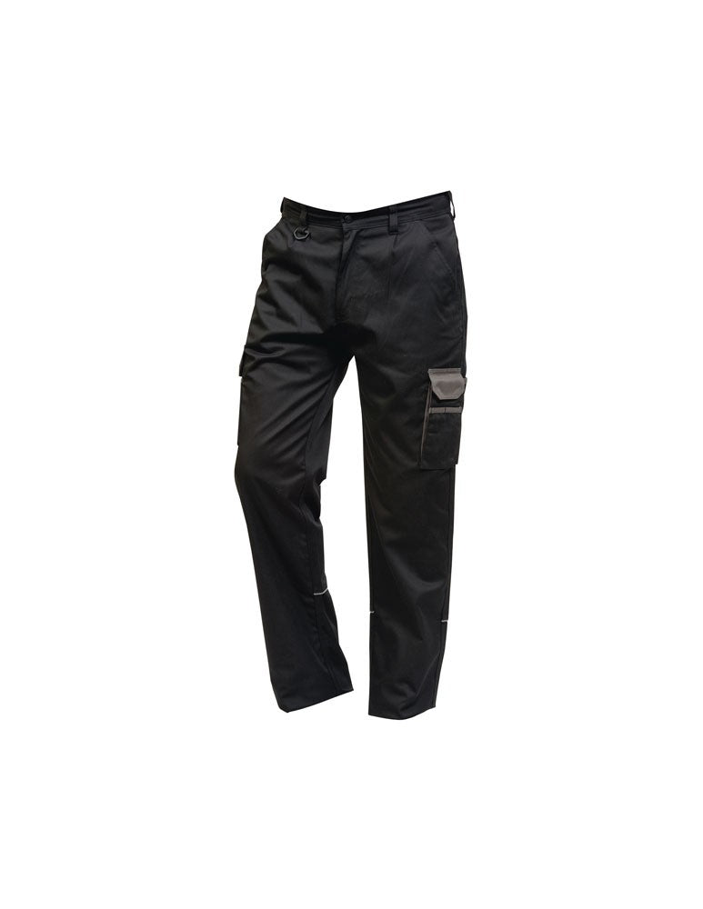 Silverstone Trouser (TM258 (2580)) - BLACK / GRAPHITE