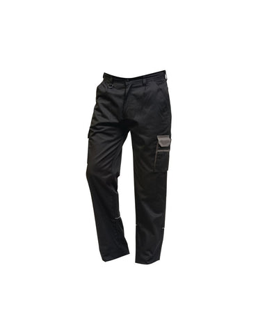 Silverstone Trouser (TM258 (2580)) - Black / Orange
