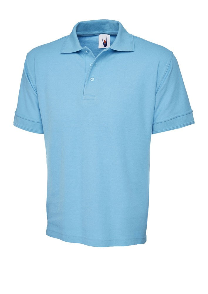 Premium Workwear Polo Shirt (P102 (UC102)) - Sky