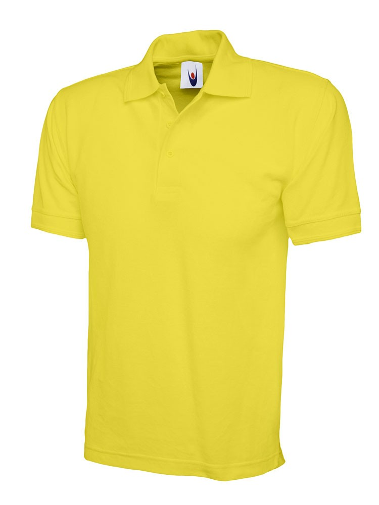 Premium Workwear Polo Shirt (P102 (UC102)) - Yellow