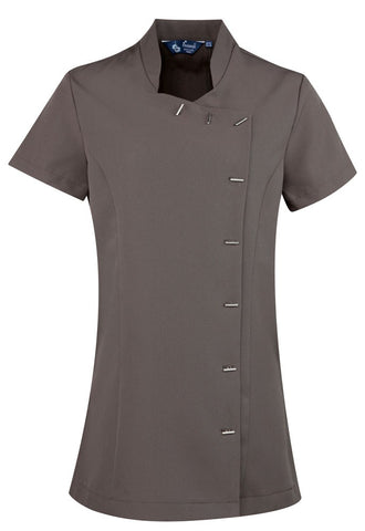 Ladies Beauty Tunic (TU122 (PR682)) - Dark Grey
