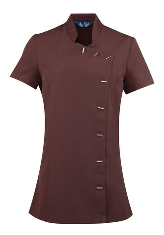 Ladies Beauty Tunic (TU122 (PR682)) - Brown