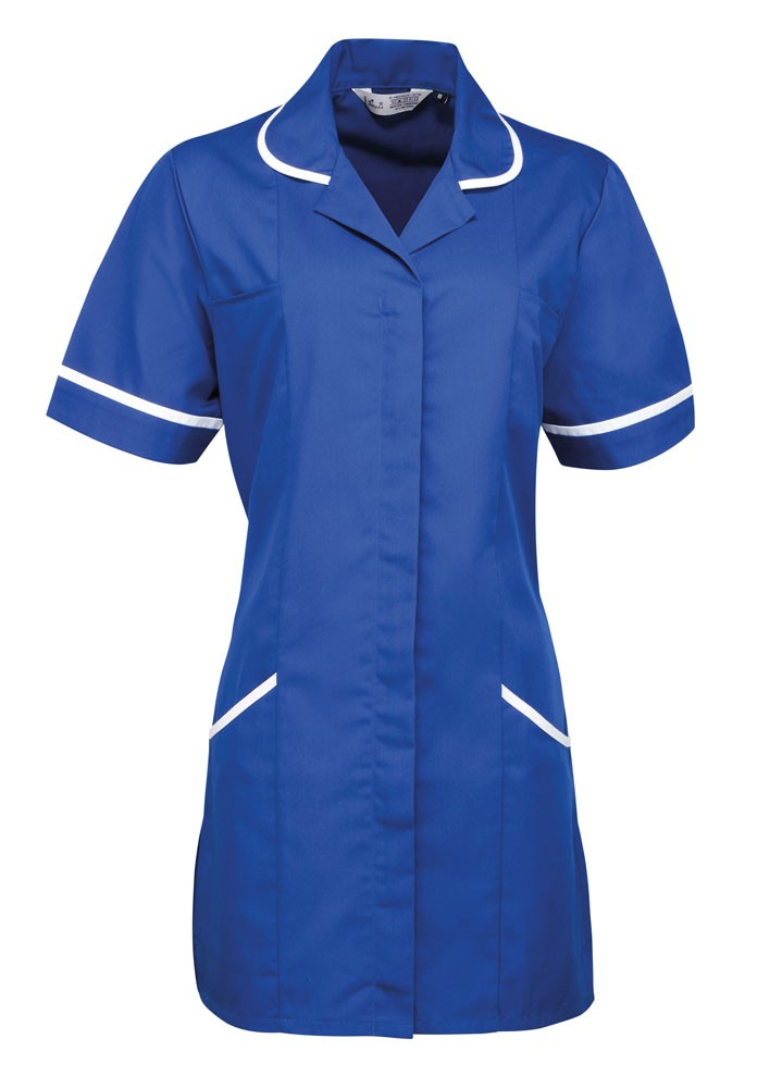Healthcare Tunic (TU500 (PR604)) - Royal / White