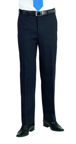 Apollo Flat Front Trouser (TM158) - Charcoal