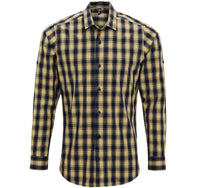 Roll Sleeve Check Shirt (S250)
