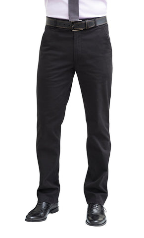 Men's Classic Fit Chino Trouser (TM8806) - Navy