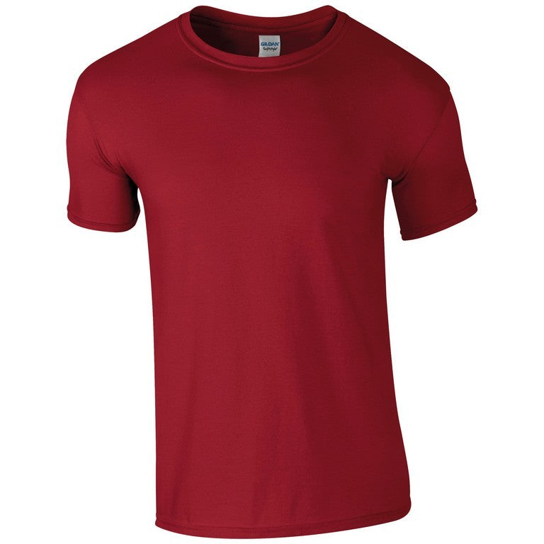 Softstyle Unisex T-Shirt (TS001 (GD001)) - Cardinal Red