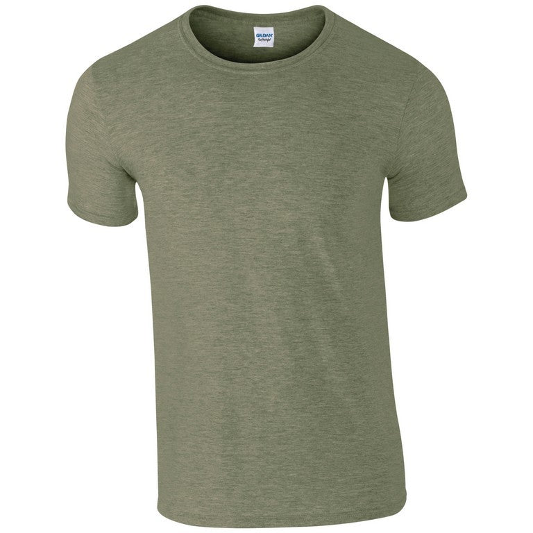 Softstyle Unisex T-Shirt (TS001 (GD001)) - Heather Military Green
