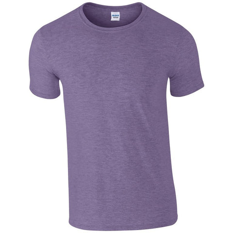 Softstyle Unisex T-Shirt (TS001 (GD001)) - Heather Purple