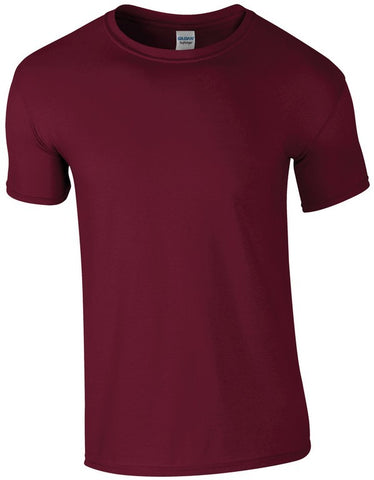 Softstyle Unisex T-Shirt (TS001 (GD001)) - Maroon