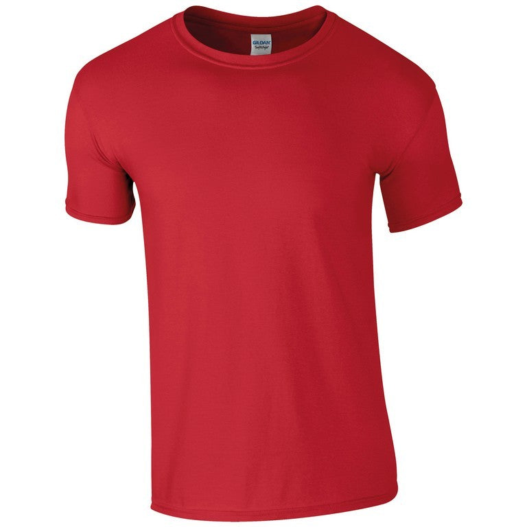Softstyle Unisex T-Shirt (TS001 (GD001)) - Red