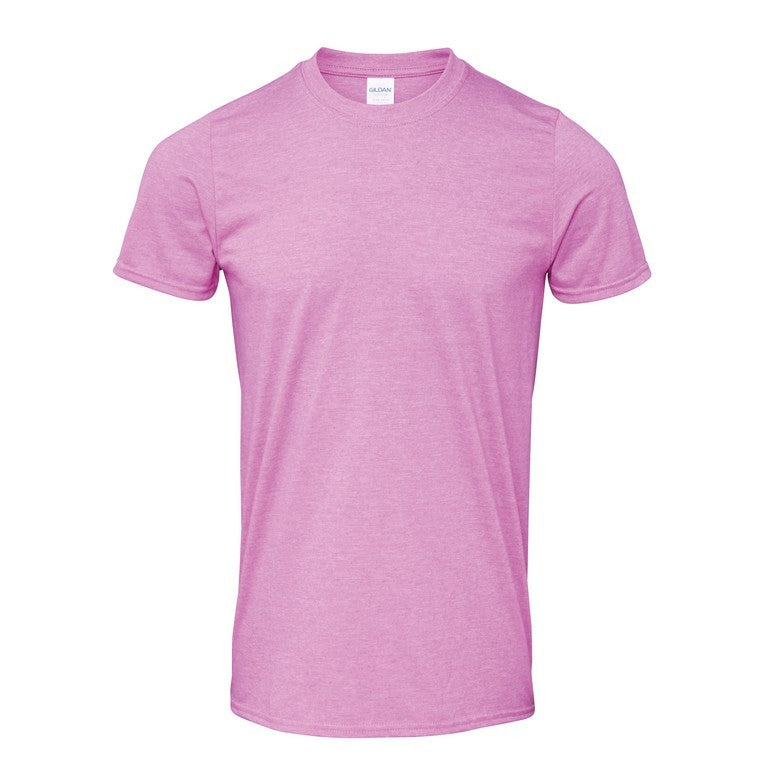 Softstyle Unisex T-Shirt (TS001 (GD001)) - Heather Radiant Orchid