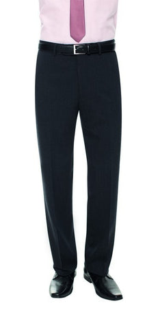 Soho Flat Front Trouser (TM119) - Navy