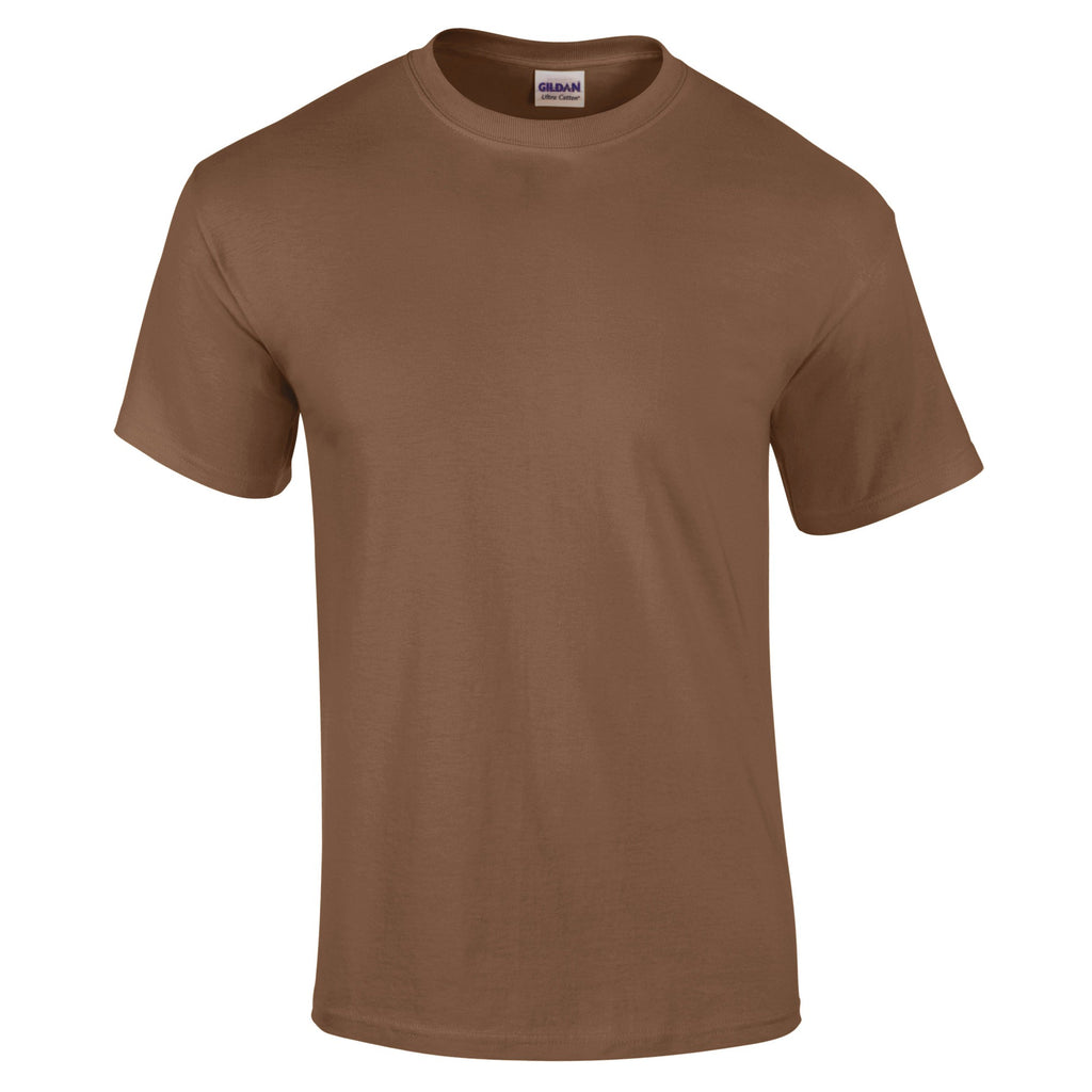 Ultra Cotton Unisex T-Shirt (TS83 (GD002)) - Chestnut