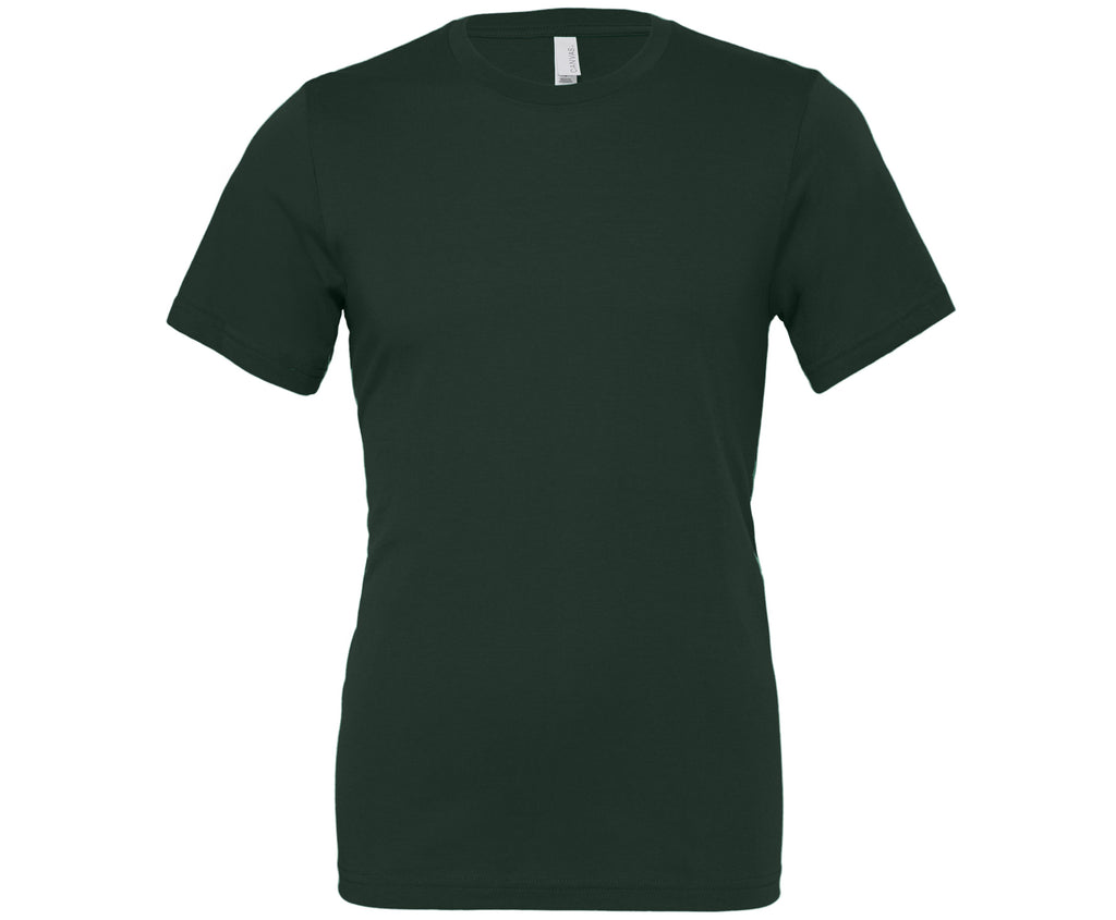 Soft Feel Unisex T Shirt (TS81 (CV001)) - Forest