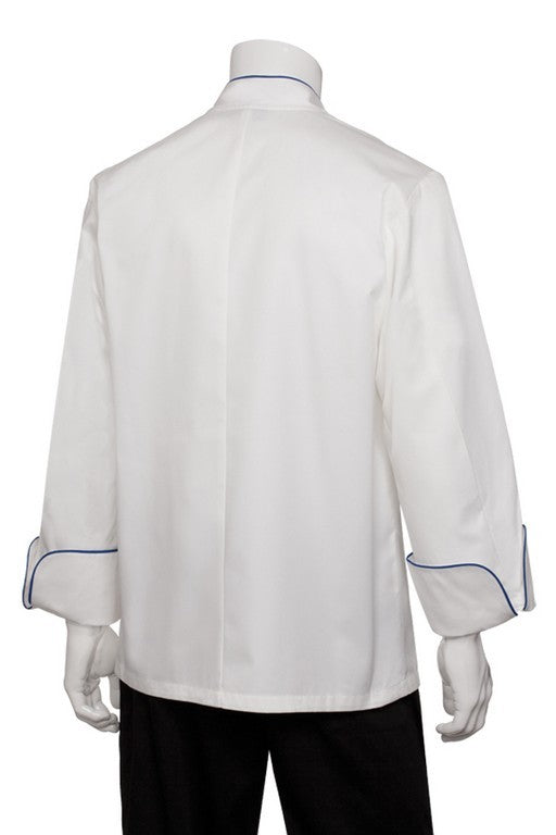 Bali Premium Cotton Long Sleeve Chef Jacket (ECRI)