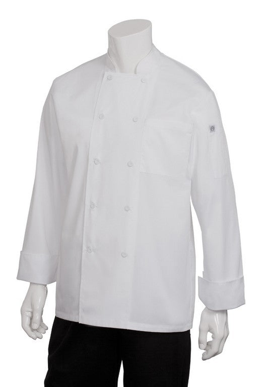 Calgary Cool Vent  Long Sleeve Chef Jacket (JLLS)