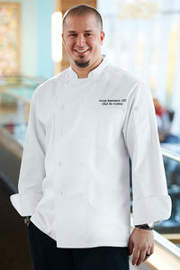 Cambridge Executive Long Sleeve Chef Jacket (SCHR)