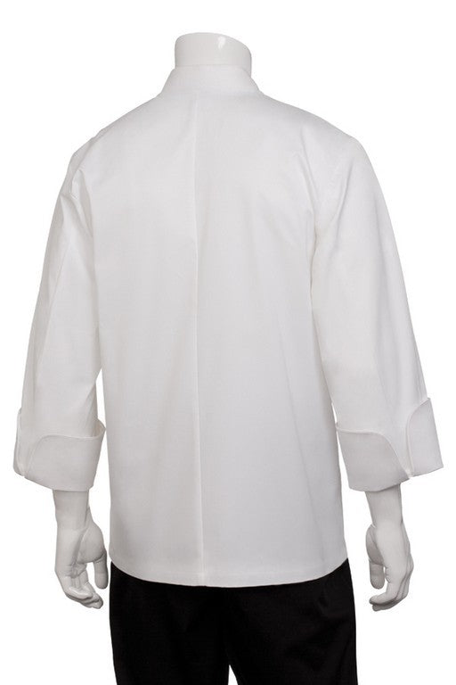 Oslo Premium Cotton Long Sleeve Chef Jacket (FB23N)
