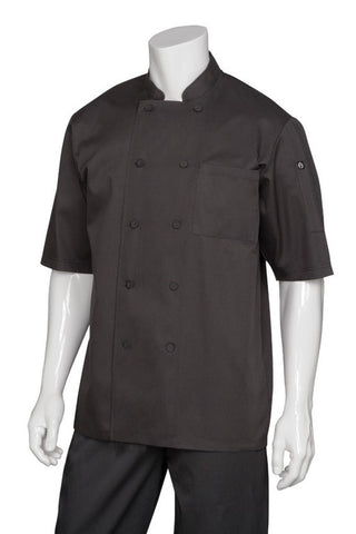 Montreal Cool Vent Short Sleeve Chef Jacket/Coat (JLCV)