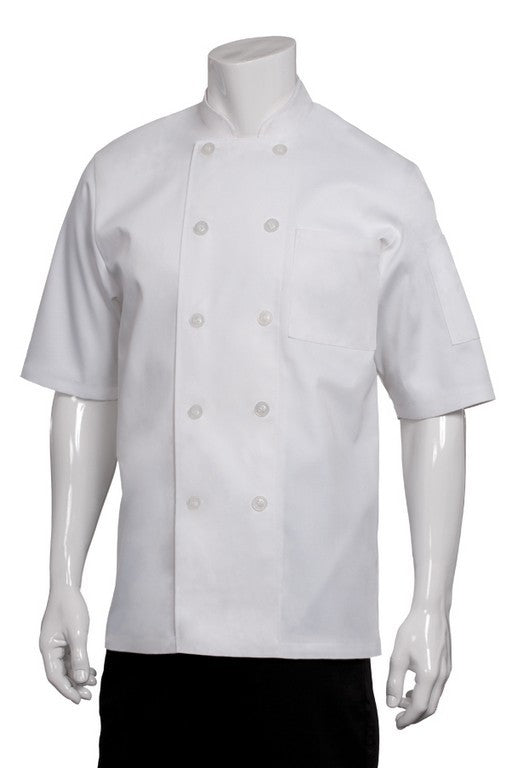 Volnay Short Sleeve Chef Jacket/Coat (PCSS)