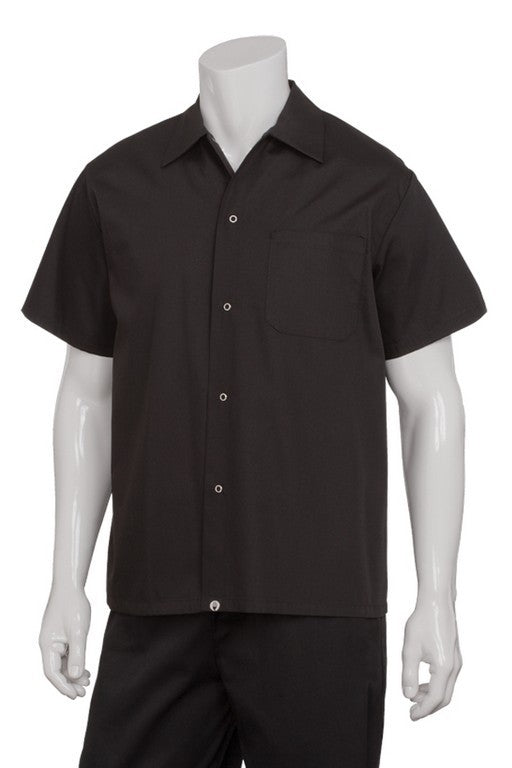 Utility Shirt Short Sleeve Black (KCBL)