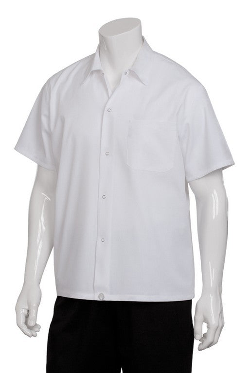 Utility Shirt Short Sleeve White (SHYK)