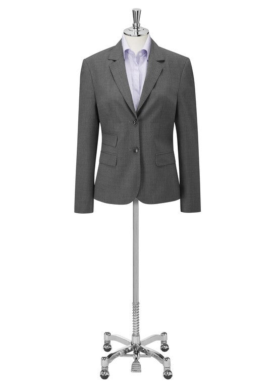 Elle 2 Button Jacket (JF701) - Grey