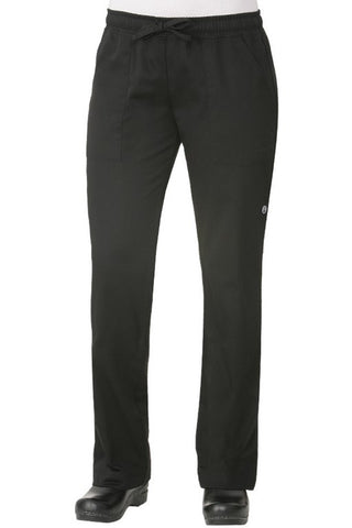 Ladies Chef Trousers/Pants (WBLK)