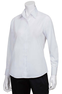 Ladies Essential Long Sleeve Dress Shirt (W100)