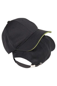 Cool Vent Baseball Cap with colour Trim (BCCT)