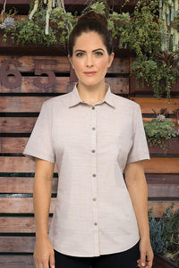 Havana Ladies Short Sleeve Blouse (SHC01W)