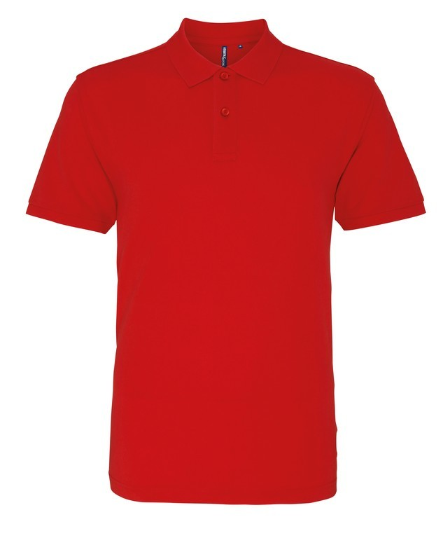 Unisex Cotton Polo Shirt (P010 (AQ010)) - Cherry Red