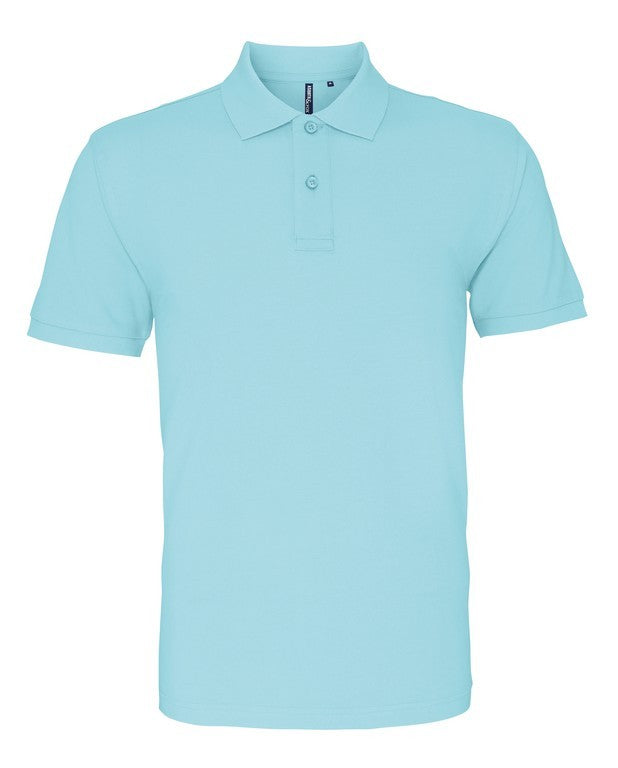 Unisex Cotton Polo Shirt (P010 (AQ010)) - Bright Ocean