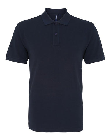 Unisex Cotton Polo Shirt (P010 (AQ010)) - French Navy